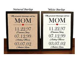 gifts for mothers birthday birthday gift etsy