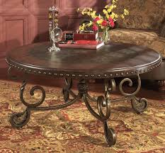Rustic Round Coffee Table Rustic Brown Round Coffee Table U2013 Christian U0027s Table