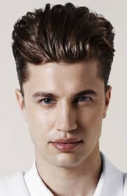 wet look pompadour looking greased shined etc pinterest