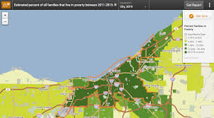 Cleveland State Map by Research Your Community Healthy Food Access Portal
