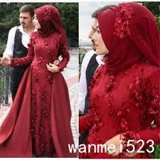 muslim wedding dress new muslim wedding dress sleeve bridal gown with