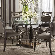 Brilliant Glass Dining Room Table Decor Modern Sets Narrow And - Glass dining room