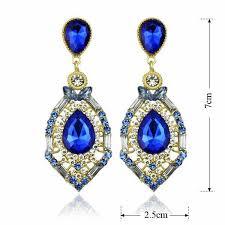 Sparkly Chandelier Earrings Aliexpress Com Buy Teardrop Crystal Chandelier Earring For Woman