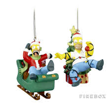 the simpsons homer ornaments firebox