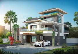 Luxury Bungalow Designs - ultra modern home designs home designs modern home design 3d
