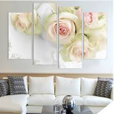 White Rose Furniture White Rose Canvas Promotion Shop For Promotional White Rose Canvas