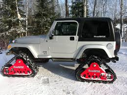 jeep wrangler snow mountain grooming equipment powertrack systems for jeeps