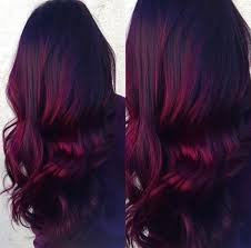 purple hair color formula burgundy hair color formula because of brazillian hair trends
