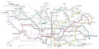 Madrid Subway Map by Underground Bravo Top Dmc