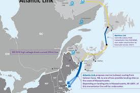 massachusetts on a map n l government interested in atlantic link business the