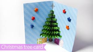 3d pop up card how to make a paper tree pop