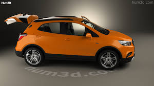 opel mokka 2017 360 view of opel mokka x with hq interior 2017 3d model hum3d store