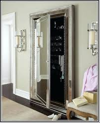 free standing jewellery armoire uk furniture white floor mirror with jewelry storage stand up