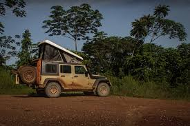 camping jeep glorious gabon the road chose me