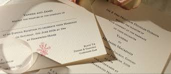 motif personalised wedding invitations the letter press