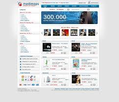 redesign an online shop for cds books dvds logo refresh web