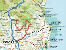 Bay Area Map Map Of Northern Rivers Region