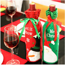 buy christmas wine bottle cover bag at direct discount outlet for