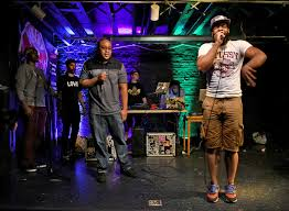 at bmore beatclub passing the mic for hip hop camaraderie