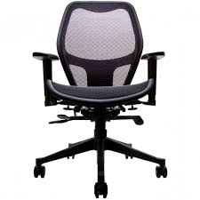 mesh ergonomic office chair home workspace lumbar support focus