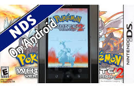 white 2 rom android drastic pokémon white 2 nintendo ds emulator on android
