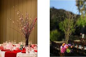 Curly Willow Centerpieces Bride Blogger Update The Wow Factor The Reception District