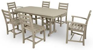 monterey bay 7 piece dining set trex outdoor furniture