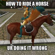Horse Riding Meme - second life marketplace water horse riding backward