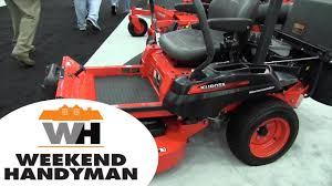 kubota kommander z122r zero turn lawn mowers by john young of the
