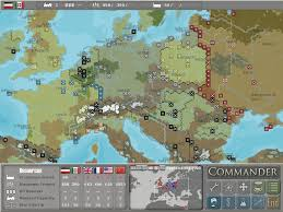 Map Of Europe Game by Commander Europe At War Gamespot