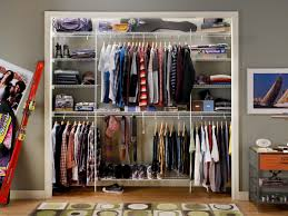 Curtains For Closet Doors by Small Closet Organization Ideas Pictures Options U0026 Tips Hgtv