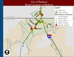 Houston City Limits Map Demographics U0026 Maps Burleson Tx Official Website