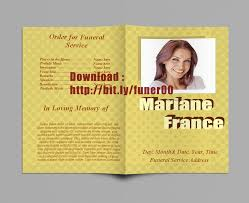 template for funeral program free funeral program templates