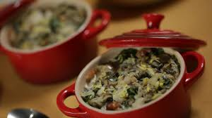 baked oysters with creamed collard greens recipe gac