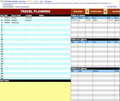 Free Travel Itinerary Template Excel Joan S Hitek Docs For Travel Plans