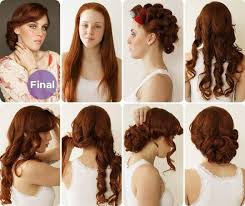 old fashioned hairstyles for long hair 30 diy vintage hairstyle tutorials for short medium long hair