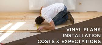 how much does it cost to install base cabinets vinyl plank flooring installation costs expectations