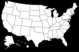 Blank Map Of The 50 States by Blank Map Of Usa 50 States Entrancing Blank Map Usa States