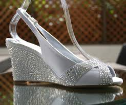 wedding shoes rhinestones wedding shoes ideas rhinestones wedge wedding shoes for