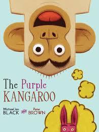 the purple kangaroo book by michael ian black peter brown