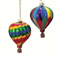 amazon com kurt adler noble gems air balloon christmas