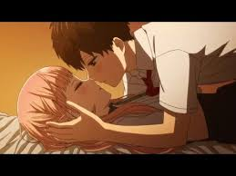 download film anime uso koi to uso neji and ririna kiss anime kiss scene youtube