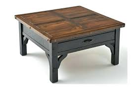 Square Wooden Coffee Table Square Wood And Glass Coffee Table En Square Wooden Coffee Table