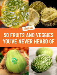 exotic fruits and vegetables different uncommon fruits and