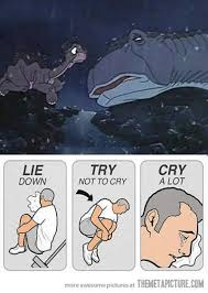 Land Before Time Meme - every time i watch this scene in the land before time the