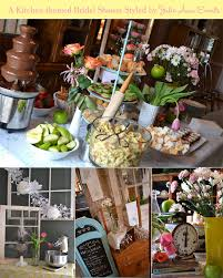 kitchen bridal shower ideas fab feature a kitchen themed bridal shower by julie events