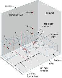 Floor Plans For Basement Bathroom 1242 Best Bathroom Rehab Images On Pinterest Bathroom Ideas