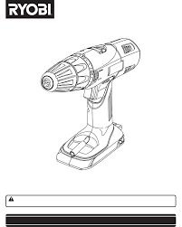 Ryobi Table Saw Manual Ryobi Drill P201 User Guide Manualsonline Com