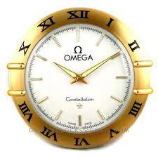 wall watch omega constellation wall clock dealer clocks
