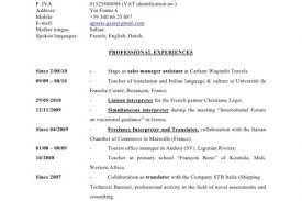 Spanish Interpreter Resume Sample by Linguist Resume Examples Reentrycorps